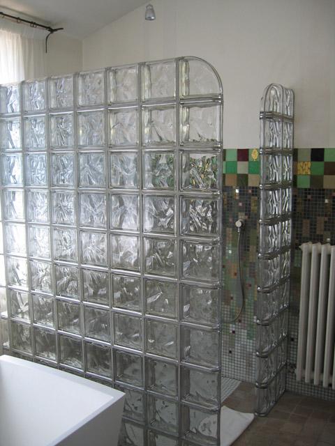 cloison en brique de verre. brique de verre la cloison en verre ... - Salle De Bain Brique De Verre